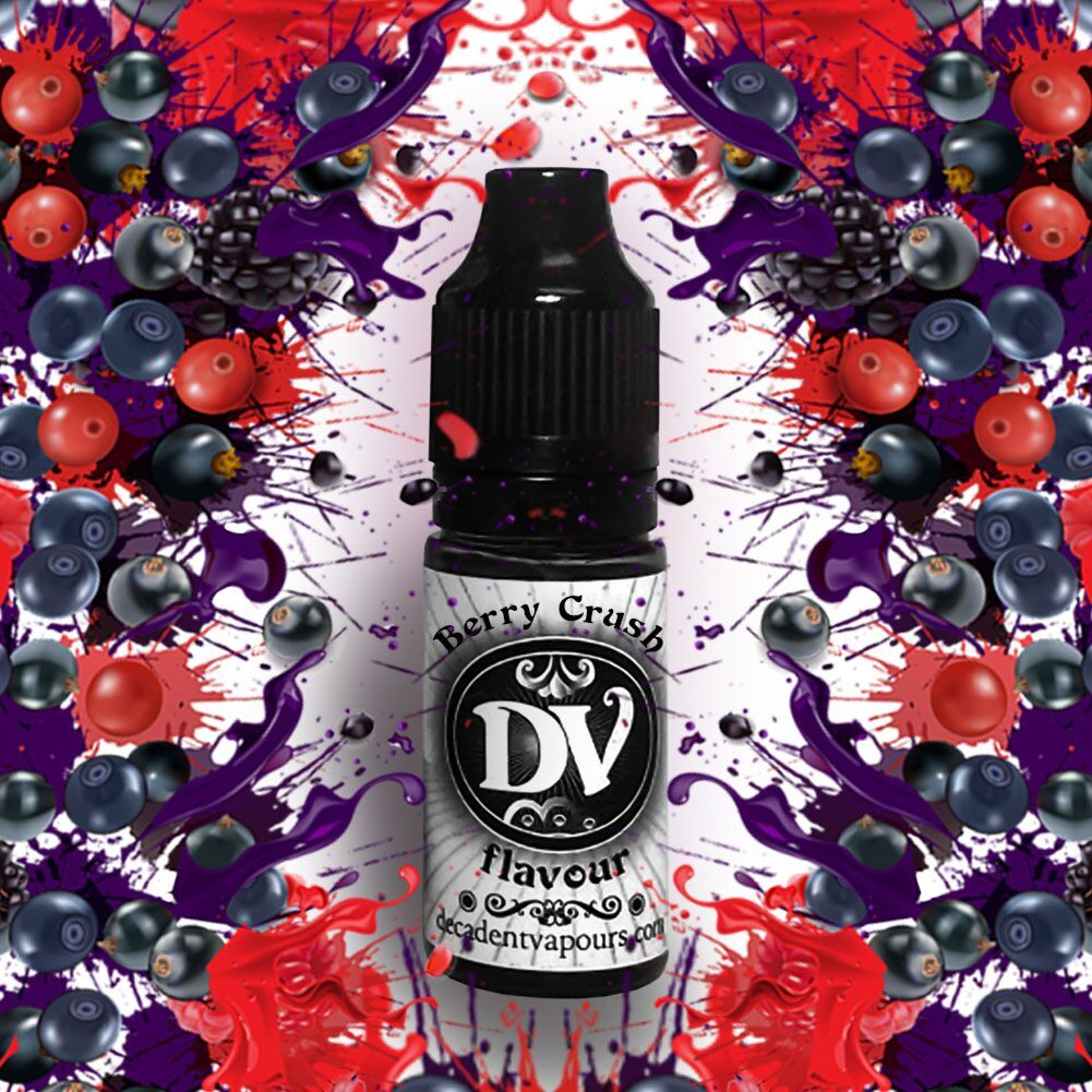Berry Crush e-liquid concentrate
