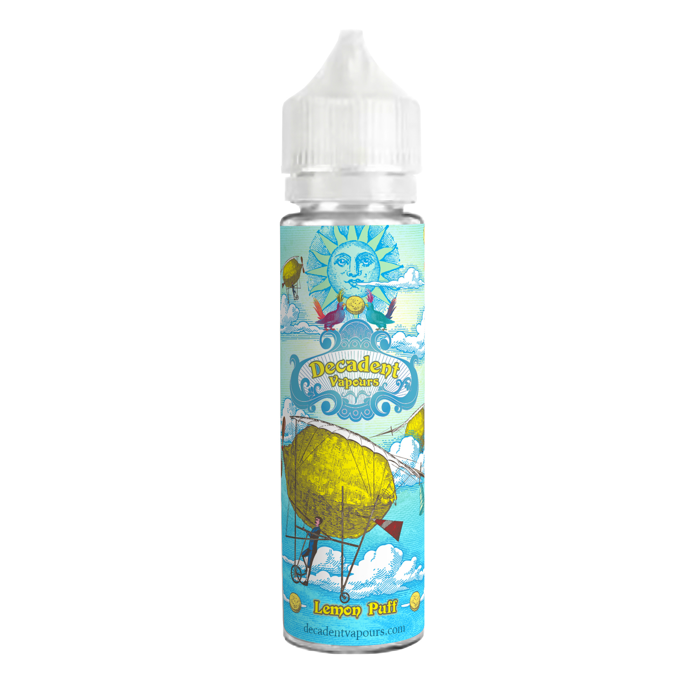Lemon Puff E-Liquid (60ml Shortfill)