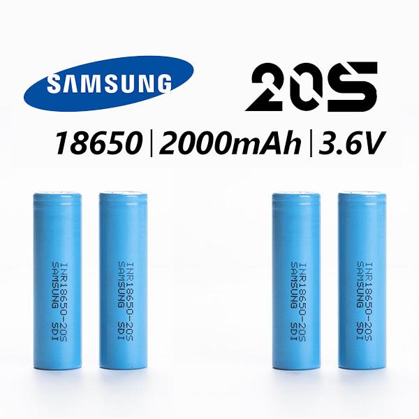 Samsung 20S 18650 2000MAH