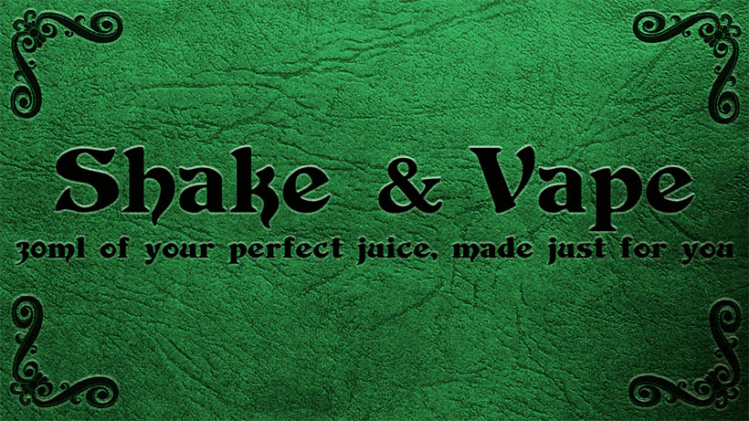 Shake and Vape E-Liquid