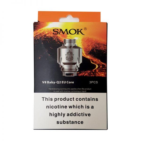 Smok V8 Baby Q2 EU Core Coils 0.4Ω Ohm (3 Pack)