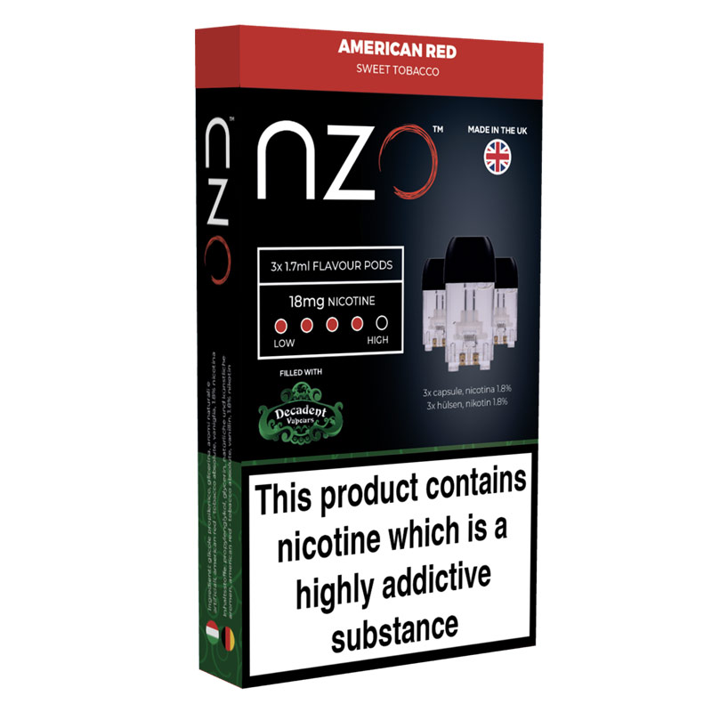 American Red - nzo Pod Refill Pack