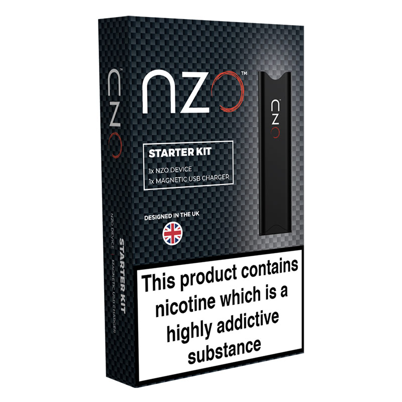 nzo Closed Pod System Starter Kit - Prefilled Pods