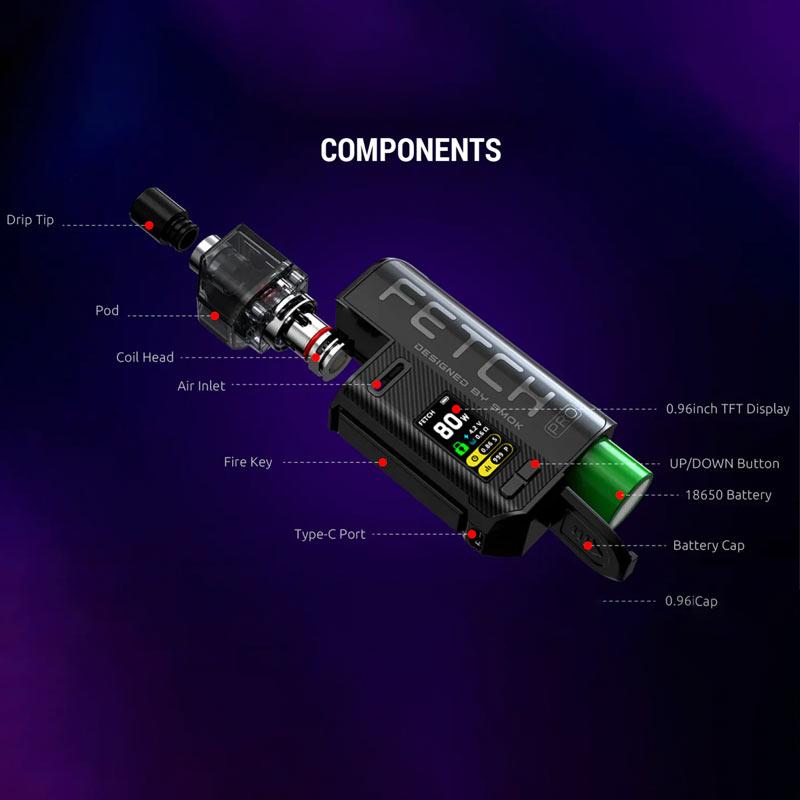 Smok-Fetch-Pro-Components