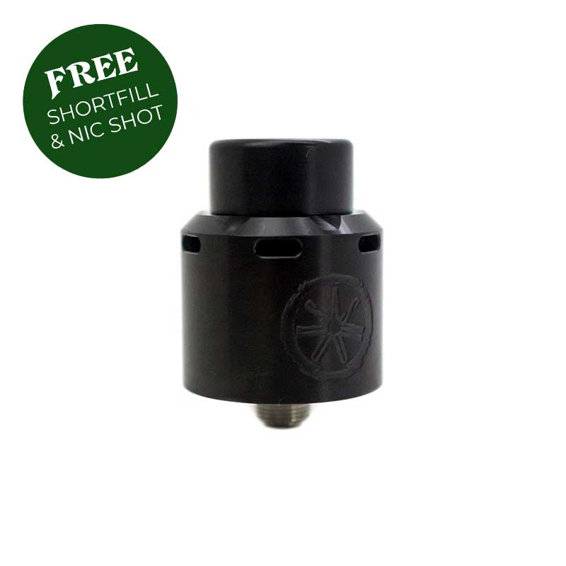 asModus Blank Black 24mm RDA
