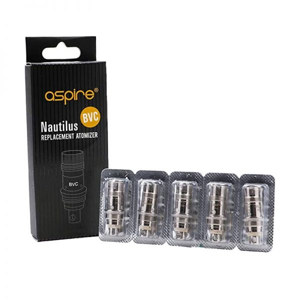 Aspire Nautilus BVC Replacement Coils (5 Pack)
