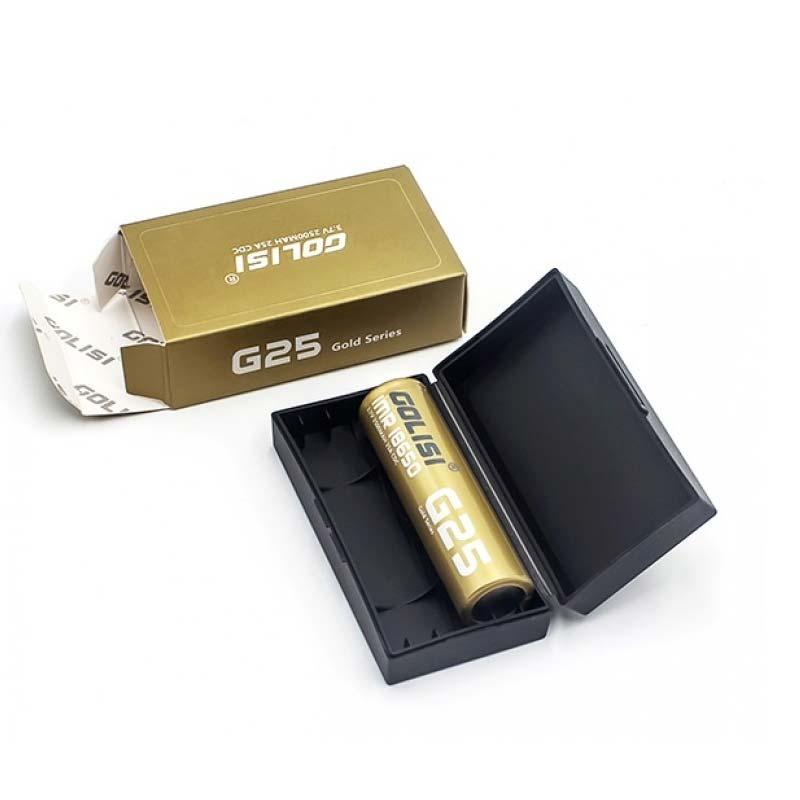Golisi 18650 G25 Batteries 2500mAh (2 pack)