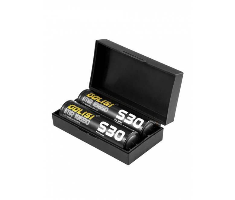 Golisi 18650 S30 Batteries 3000mAh (2 pack)